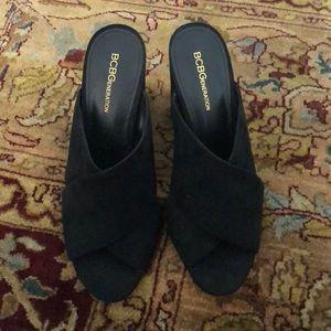 BCBG Heel Slippers